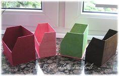 Karteikarten-Box A7 aus Graupappe/ Workshop