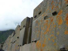 Pre Inca architecture, Ollantaytambo, Peru