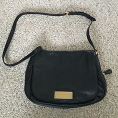 Marc by Marc Jacobs The Nash cross body The Nash Marc by Marc Jacobs black lamb leather bag, brand new never used purchased at a sale. Marc by Marc Jacobs Bags Crossbody Bags