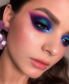 Glam Makeup Look, Love Makeup, Makeup Inspo, Makeup Inspiration, Makeup Ideas, Full Makeup, Makeup Pro, Day Makeup, Romantic Makeup