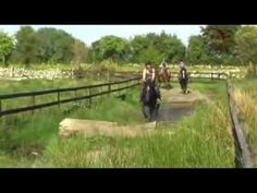 Cross-country Fun in a Nurtural Bitless Bridle - Can you ride cross-country in a bitless bridle? You can in a Nurtural Bitless Bridle. Enjoy these brief highlights as 3 international riders enjoy a romp through the cross-country course at Slieve Aughty Centre in Western Ireland.