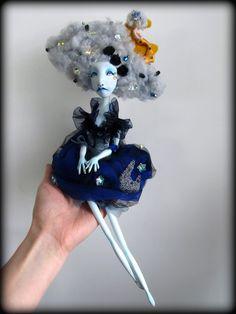 Opaline ,art doll ,Alexandra Soury