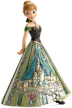 New Reward! Designed by folk artist Jim Shore, this hand-crafted, hand-painted figurine captures all the charm of Frozen's Anna. Click image for details.