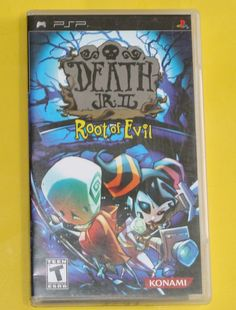 Sony PSP Death Jr. II 2 Root of Evil UMD Video Game Complete Manual Psp, Video Game, Sony, Manual, Death, Games, Game, Video Games, Playing Games