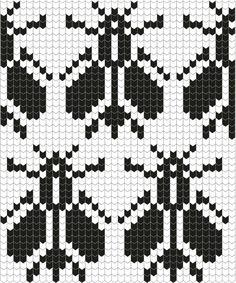 Filet Crochet, Crochet Bee, Crochet Diagram, Crochet Chart, Crochet Patterns, Fair Isle Knitting Patterns, Knitting Stiches, Knitting Charts, Knitting Designs