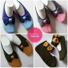 Crochet Men, Crochet Shoes, Crochet Crafts, Crochet Projects, Knitting Patterns Free, Free Knitting, Crochet Slipper Pattern, Knitted Slippers, Embroidery