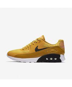 competitive price 0d72f 3bd8b Nike Air Max 90 Ultra 2.0 Gold Dart White Bright Melon Black Women s New Nike  Air