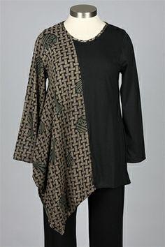 Farb-und Stilberatung mit www.farben-reich.com - Cupcake - Baretta Tunic - Black
