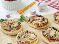 Pierogi, Impreza, Bruschetta, Tapas, Food And Drink, Appetizers, Pizza, Snacks, Cooking