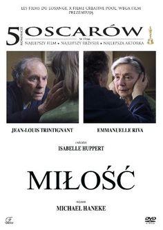 """""""Miłość"""" Michaela Hanekego, która zdobyła w tym roku o Oscara w kategorii najlepszy film nieanglojęzyczny, już na DVD!"""
