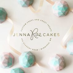 cotton candy cake truffle gems by Jenna Rae Cakes