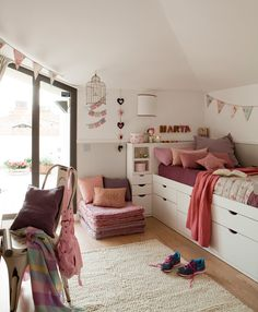 41 Best Kids Room Ideas Decoration and Creative - Pandriva Girl Room, Girls Bedroom, Aesthetic Room Decor, Kids Decor, Home Decor, Kid Beds, Kids Furniture, Room Interior, Decor Room