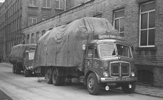 Old Lorries, Army Vehicles, Triumph Motorcycles, Commercial Vehicle, Classic Trucks, Bradford, Old Trucks, Old Photos, Transportation