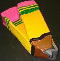 Slab Pencil Box...so visually punny. That is fantastically school fun!
