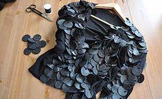 leather paillettes