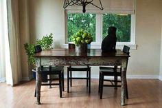 Perfect farm table