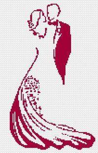 Beautiful (and free) cross stitch pattern.