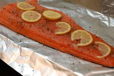Foil Wrapped Salmon - Grilled Salmon Recipe - Woman's Day