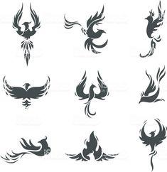 Small Phoenix Tattoos, Phoenix Bird Tattoos, Phoenix Tattoo Design, Small Tattoos, Tattoos For Guys, Tattoo Ave Fenix, Fenix Tattoos, Phoenix Bird Images, Body Art Tattoos