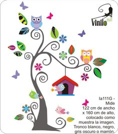 Vinilos decor samolepky na ze on pinterest animales for Vinilos infantiles gigantes