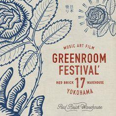 greenroom festival design
