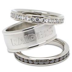 Raiders WEDDING RINGS!!! A MUST!!!