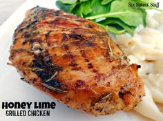 Honey Lime Grilled Chicken Marinade