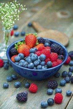 "Nothing says ""summer"" quite like berries!"