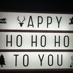 Lightbox - Happy Ho Ho Ho To You - A Little Lovely Company