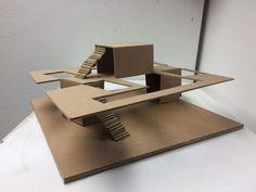 University Architecture, Architecture Student, Architecture Design, Concept Models Architecture, Architecture Model Making, Cardboard Model, Arch Model, Dundee, Building Design