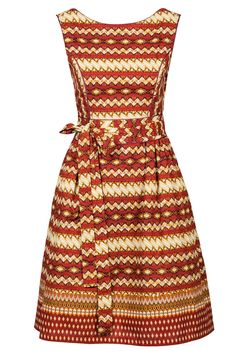 Red African dress by Noh Nee // Collection 2016