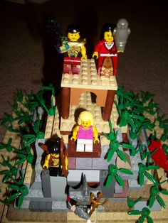 Ancient Greece LEGO scapes