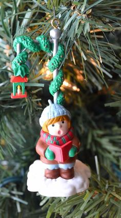 Christmas Ornament 1991 Collectible - National Rennoc - Holiday Ornament