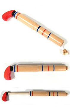 $3 AGES 5+ Wooden Pop Gun Classic Cork Toy | Pop Guns & Poppers | TinToyArcade |