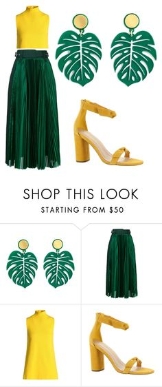 """""""Untitled #73"""" by bettina-agoston on Polyvore featuring Sacai, Marni and BCBGeneration"""