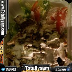 As my new #Keto journey begins this will be my go two meals. Its quick easy and very convenient since I am always on the go. Chicken and Lamb combo with salad and white sauce. I will add my own sugar free bbq sauce as well.  New www.Totallysam.com site is up now!  #actor #actorslife #weightloss #fitness #workout #cardio #bodybuilding #gym #train #health #ketogenic #inspiration #beachbody #personaltrainer #lowcarb #healthychoices #single #gay #paleo #teambeachbody #motivation #weightloss…