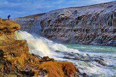 Photographing Gullfoss, Iceland