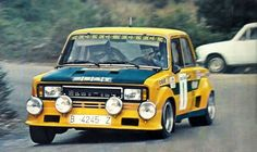 🇪🇸 Spanish Stroll Seat 124 Proto Group 5 at the Rallye Catalunya of 1977 Photographer Unknown Fiat 500, Sport Cars, Race Cars, Rally Raid, Classic Sports Cars, Classic Cars, Fiat Abarth, Car And Driver, Used Cars