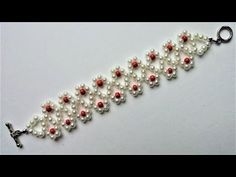 DIY Jewelry Crafts- Mother's Day Bracelet -Easy Beading Project for Beginners - YouTube