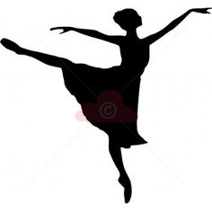 ballet dancer silhouette - Google Search