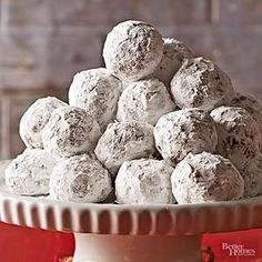 This easy cookie recipe is great for the holidays. With a dusty powdered sugar coating, these easy Christmas cookies are definitely ready for snow./