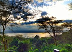 A beautiful view of Kenya's Lake Nakuru from Sarova Lion Hill Game Lodge...