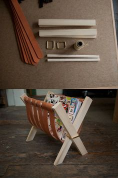 Some DIY Inspiration for You (20 Pics) Magazine rack