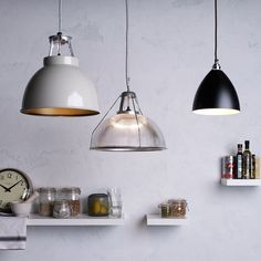 Buy Black Original BTC Task Pendant Light from our Ceiling Lighting range at John Lewis & Partners. Original Btc Lighting, Lighting Design, Floor Lamp, Eclectic Light Fixtures, Industrial Style Lighting, Ceiling Pendant Lights, Contemporary Floor Lamps, Modern Ceiling Light, Ceiling Lights