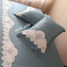 Chrochet, Bedding Sets, Bed Pillows, Pillow Cases, Bed Linens, Bedrooms, Craft, Tejidos, Bed Drapes