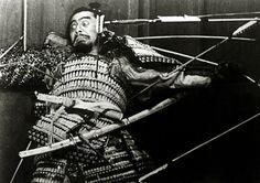 Toshiro Mifube in Throne of Blood, 1957, Akira Kurosawa