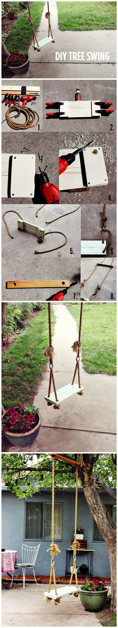#Diy Tree #Swing #Tutorial