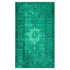 Cassandra Rug, such a healing color. A great piece for your special place. PEACE