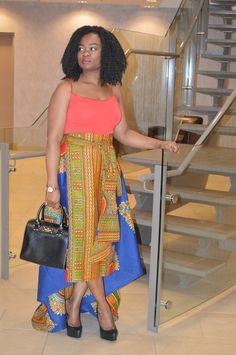 Roda Danshiki Skirt - by Rahyma African Fashion.  on Afrikrea, €95.00
