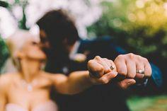 Ring shot. Traditional Meets Modern Rock n Roll Wedding · Rock n Roll Bride